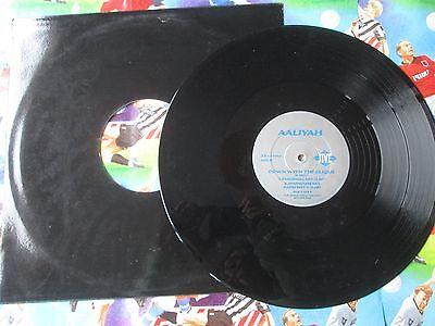Aaliyah – Down With The Clique Jive JIVE T 377P UK Vinyl 12inch Maxi-Single comprar usado  Enviando para Brazil