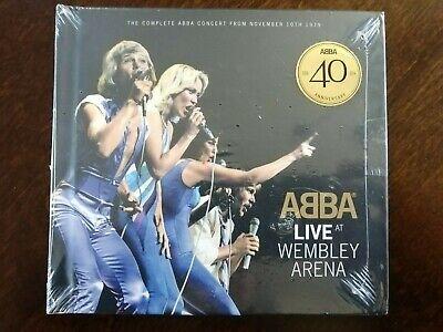 Live at Wembley Arena [Digipak] by ABBA (CD, Sep-2014, 2 Discs, Polydor)