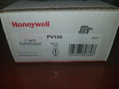 Honeywell Supervent Air Eliminator 1 In Npt Connection Pv100