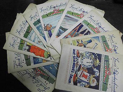 Hans Kunterbunt 9 Hefte, 1928-1932, Vorkrieg, Jahrgang 3. bis 8.