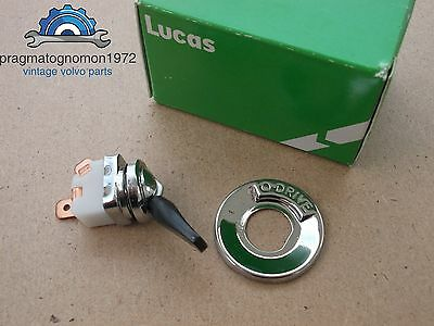 Used, VOLVO AMAZON 121 122 P 1800 PV 544 OVERDRIVE BEZEL AND LUCAS SWITCH NEW for sale  Shipping to United States