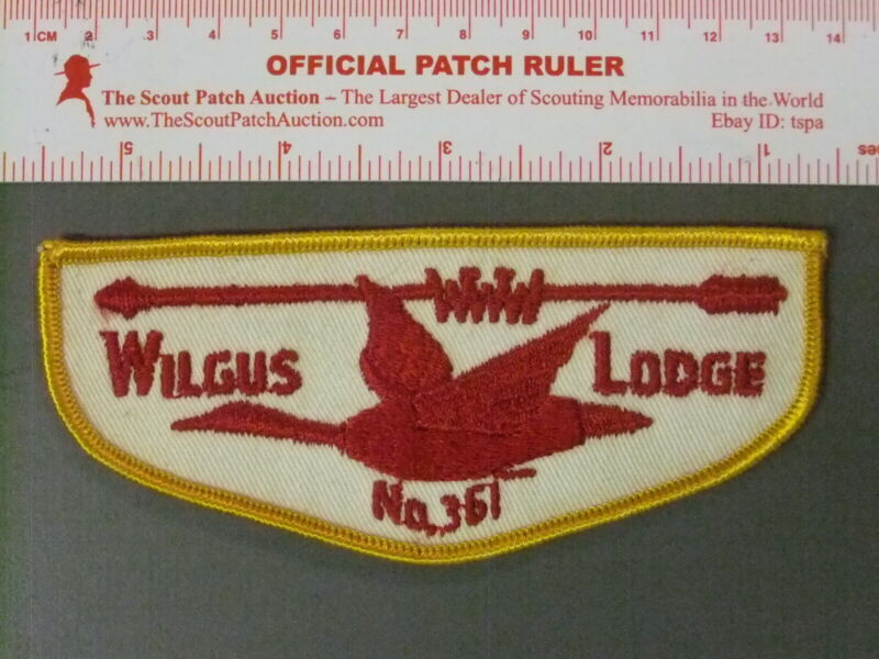 Boy Scout OA 361 Wilgus flap 6587JJ