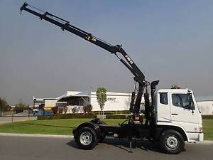 Mitsubishi FP 547 Prime Mover Crane truck Welshpool Canning Area Preview