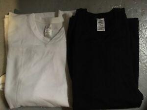 Hockey practice game jerseys, black and White Size M