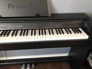 casio px-760 privia digital piano-black