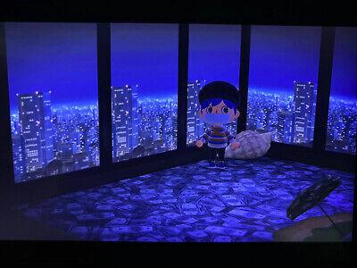 Animal Crossing New Horizon Rare 3D Cityscape Wallpaper!