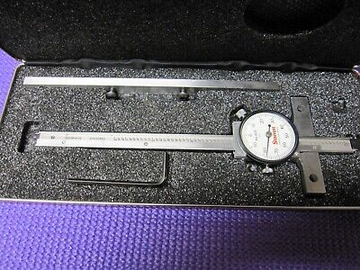 Starrett 450-6 Dial Depth Gage With 7 Base Extender