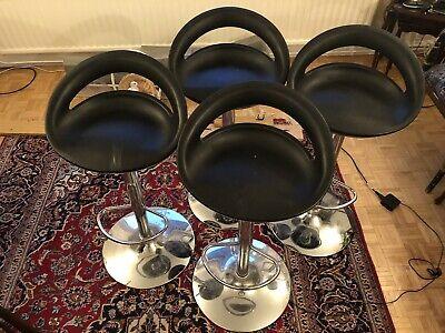 True Innovations Tall Bar Kitchen Stool Chairs x4