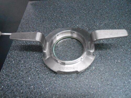 "BIOENGINEERING C469 3.5"" VIEW DIAMETER BIOREACTOR TANK BAYONET SIGHT GLASS"