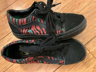 Youth Boy's VANS Old Skool 'A Tribe Called Quest' Skate Shoes - Size 1.5