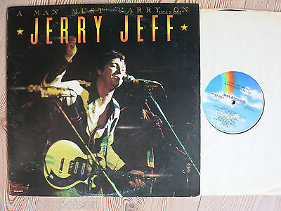 JERRY JEFF WALKER - A Man Must Carry On  2 LP  MCA Records – MCA2-6003  USA 1977 ()