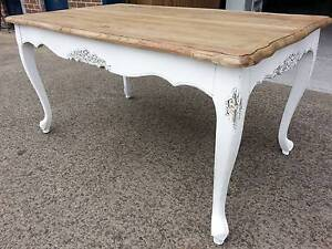 NEW FRENCH PROVINCIAL RECYCLED SHABBY TIMBER DINING TABLE Chipping Norton Liverpool Area Preview
