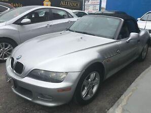 2002 BMW Z3 2.5i 89000km certifié