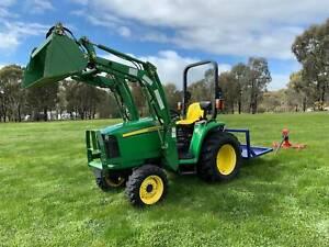 John Deere 3036E Tractor West Bendigo Bendigo City Preview