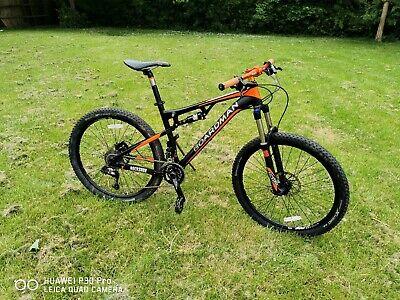 Boardman Team Fs Size medium 18 full suspension mountain bike