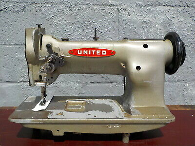 Industrial Sewing Machine Model United 111w155 Single Walking Foot- Leather
