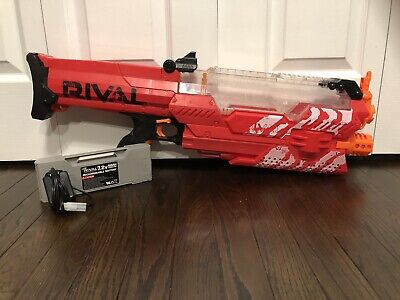 Hasbro Nerf Rival Nemesis MXVII-10K - Red With Rechargeable Battery Pack