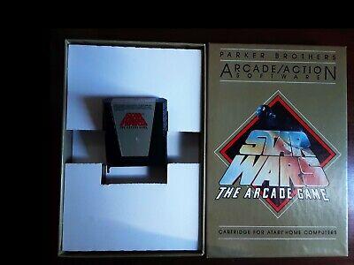 STAR WARS CARTRIDGE  in ORIGINAL BOX   Atari 400/800/XL/XE  TESTED