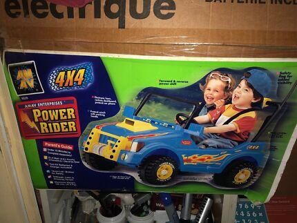 Kids 4x4 buggy