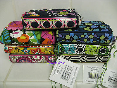 Vera Bradley SUPER SMART All In One Wristlet  You Choose NEW Free Shipping  ()
