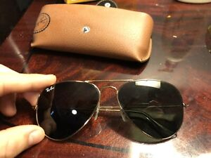 Ray Ban Aviator Classic with case