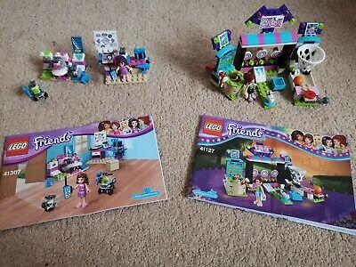 Lego Friends Olivia's Creative Lab (41307) and Amusement Park Arcade (41127)