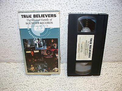 True Believers Musical Family Of Rounder Records Vhs Video Alison Krauss