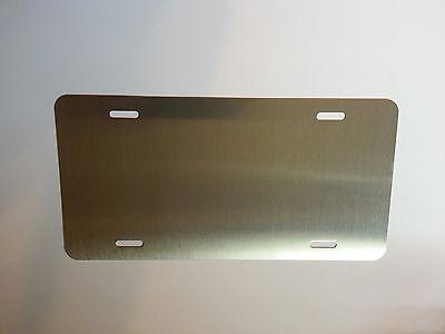 120 Pieces Aluminum License Plate Sublimation Blanks 6x 12 Brusehd Aluminum