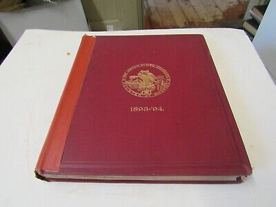 1893-1894 United States Standard Register of Shipping, boats/ships/maritime