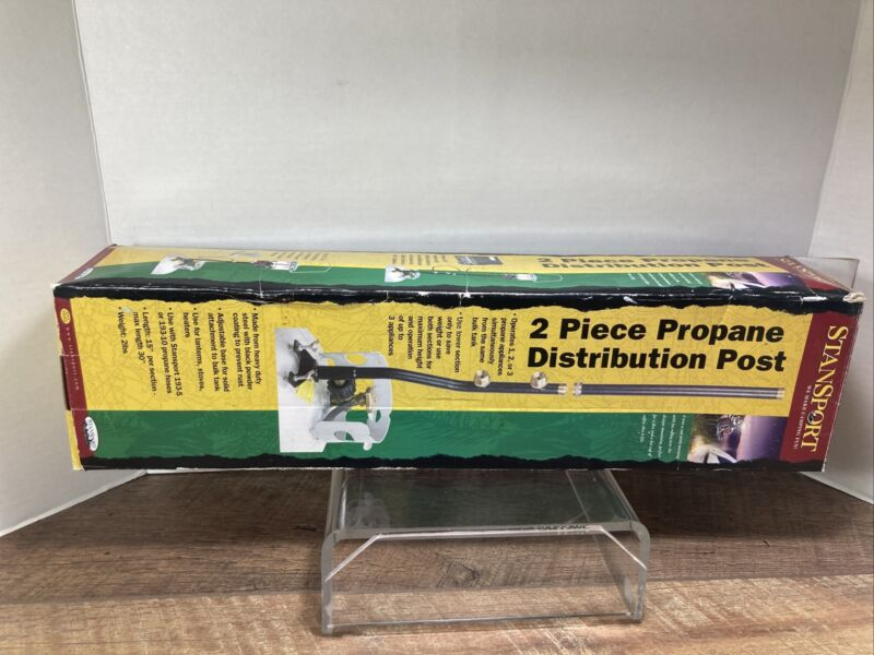 STANSPORT PROPANE DISTRIBUTION POST 3 OUTLET 30 IN 1 PIECE CAMPING OUTDOOR NEW
