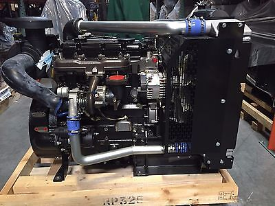 Brush Chipper Perkins Diesel 1104d-44ta Power Unit - Vermeer Bandit Morbark