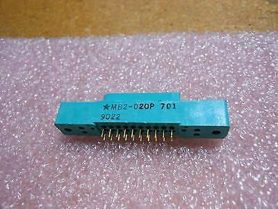 Bendix Connector Mb2-020p701 Nsn 5935-01-312-4632 Rectangular 20 Contacts