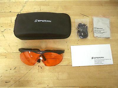 Sperian Laser Safety Glasses Lsk-argonktp Orange Lens 50 Q2