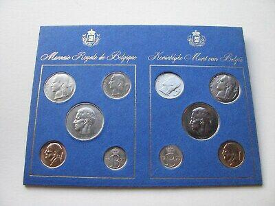 Monnaie Royale de Belgique 1975 - 10 pièces-neuf.