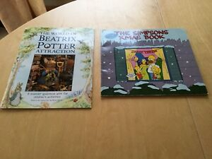 2 Children books, Simpson's and Potter, gift