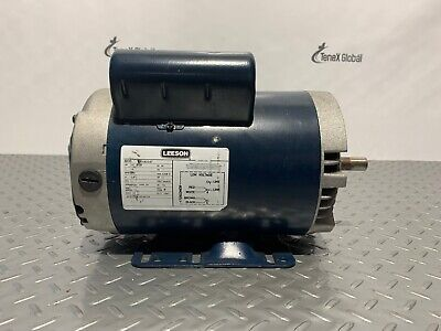 Leeson Model Pr192347 2 Hp 1 Ph Electric Motor P-7