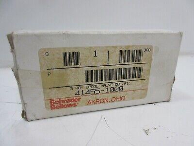 New Schrader Bellows 41455-1000 Pneumatic Valve 60 Day Warranty