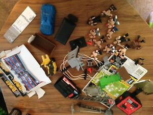 WWE wrestling toys rumblers lot boy toys used