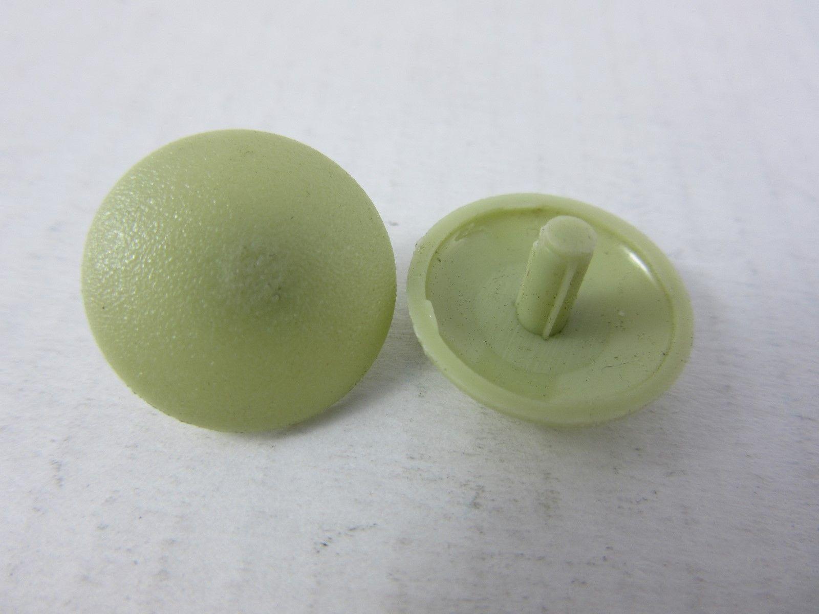 100 Stück Abdeckkappen für Großkopfnieten Olivgelb 15 x 3 x 5 mm
