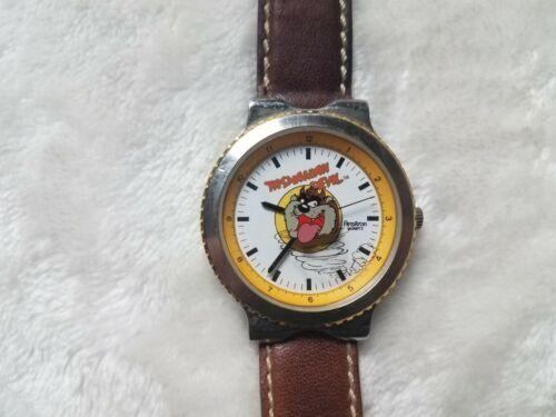 Vintage Armitron 2200/74 Warner Bros Looney Toons Tasmanian Devil Watch