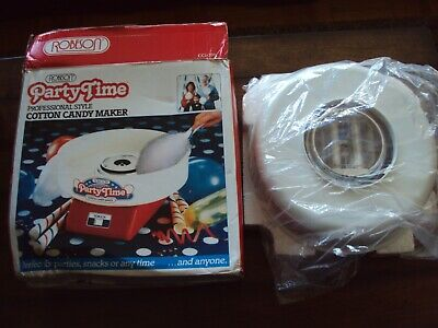 Robeson Party Time Professional Style Cotton Candy Maker New