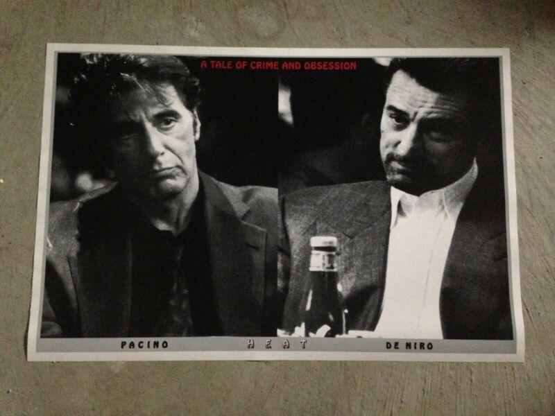"""Heat movie poster print - 24""""x36"""" - Deniro and Pacino"""