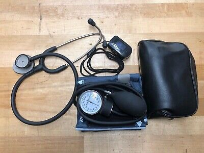 Littman Lightweight Iise Stethescope Moore Adult Blood Pressure Cuff Pulse Spo2