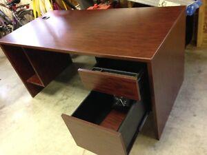 Desk office w/bookcase