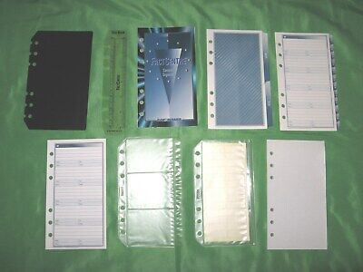 Compact Blue Tabs Refill Lot Day Runner Planner Franklin Covey Fill