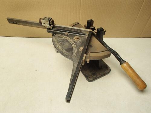 H.B. Rouse & Company antique printer