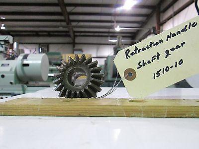 Storm Vulcan 15 Retraction Handle Shaft Gear 1510-10