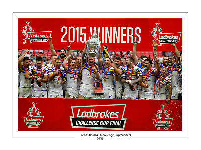 SPECIAL OFFER 3 X 2015 LEEDS RHINOS 16 X 12  HIGH QUALITY PHOTO PRINTS FREE POST