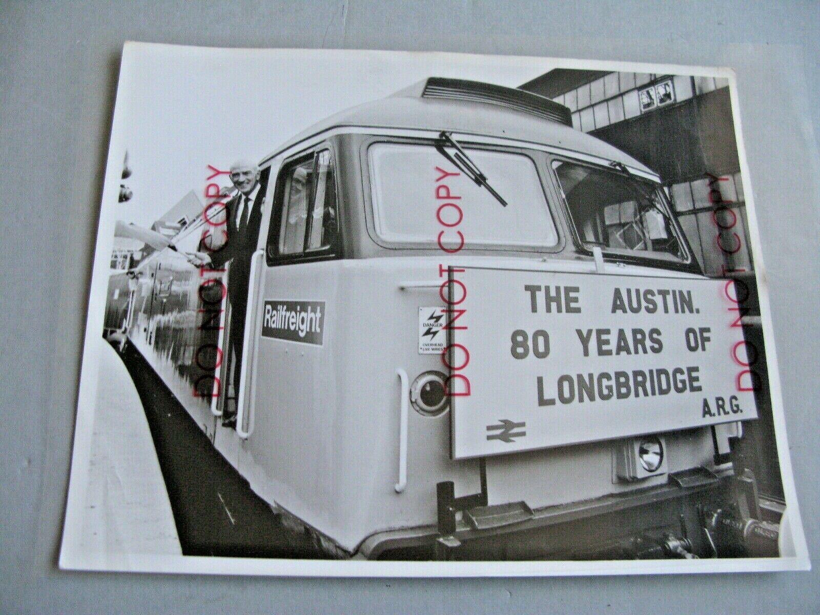 xTHE AUSTIN. 80 YEARS OF LONGBRIDGE PHOTO 10