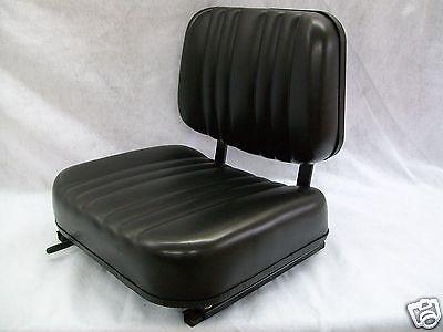 New Black Seat For Excavatorforkliftskid Loaderbackhoedozertelehandler Al